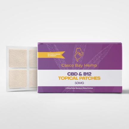 CBD B12 Patches - Retail & Wholesale CBD Products