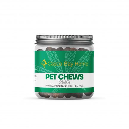 CBD Dog Treats, CBD Pet Chews - Organic Maine CBD from Casco Bay Hemp