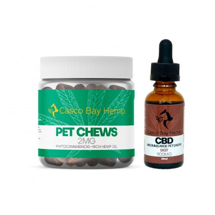 CBD for Pets Bundle - CBD Pet Treats and beef CBD Oil Tincture