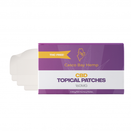 CBD Transdermal Patches (160mg) | Craft Maine CBD | Casco Bay Hemp