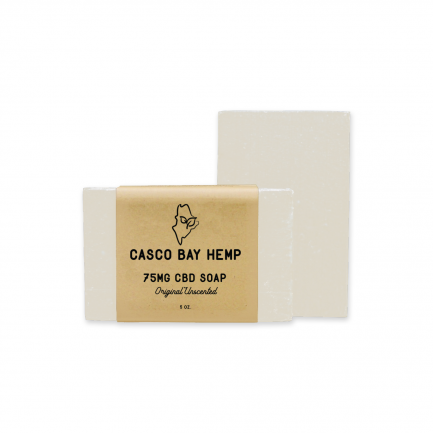 CBD Soap - Unscented (75mg)