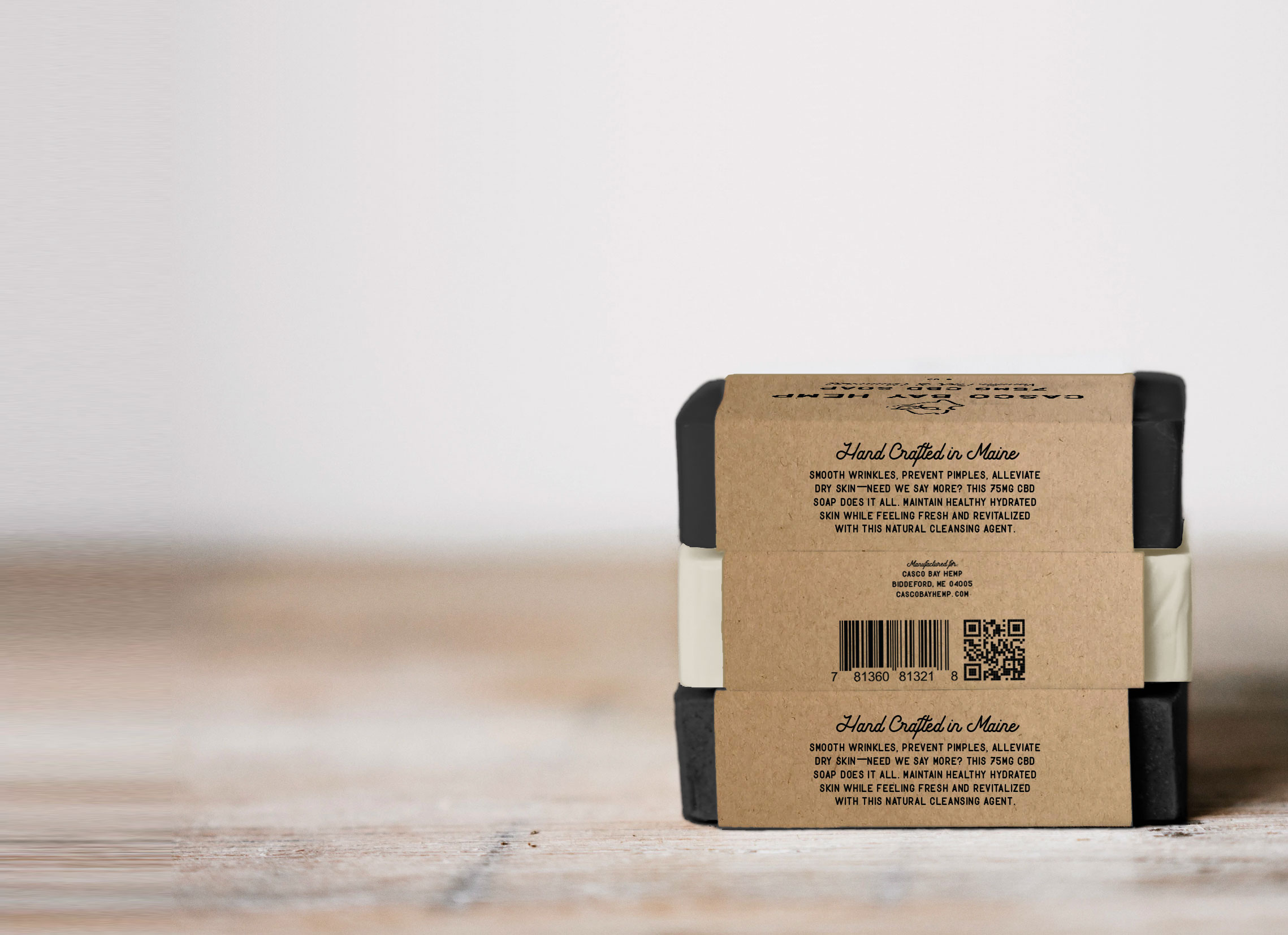 Organic CBD Soap Made in Maine by Casco Bay Hemp