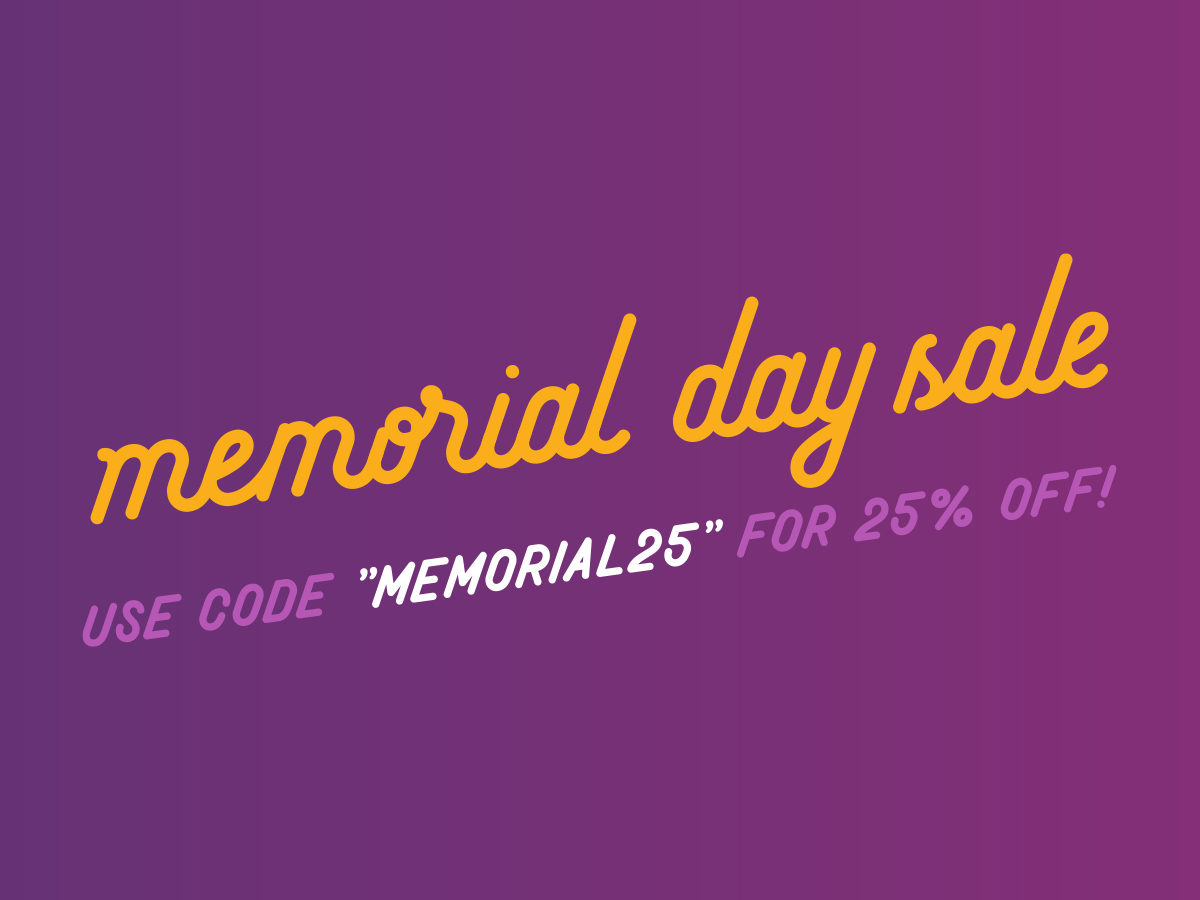 25% Off CBD Products for Memorial Day Weekend | Organic Maine Hemp