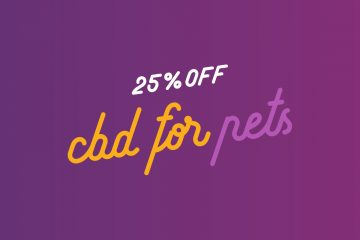 25% Off CBD for Pets Thru July 4 | Organic Maine CBD for Cats & Dogs